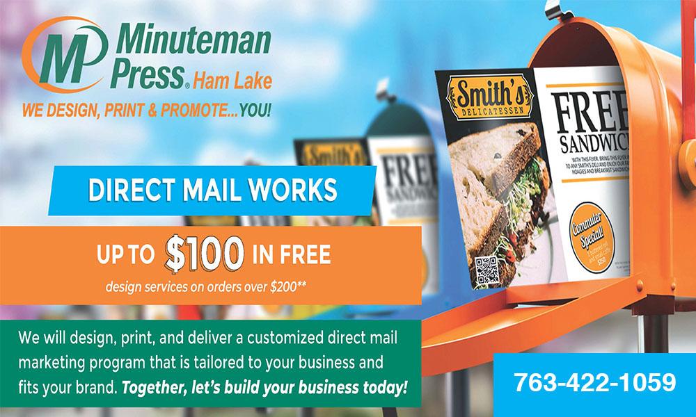 Minuteman Press – Ham Lake